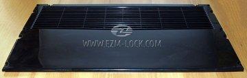 Решетка задняя холодильника MEDIUM, черная, пластик