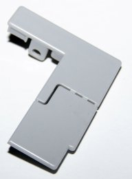 Заглушка передней решетки холодильника S8 (левая)