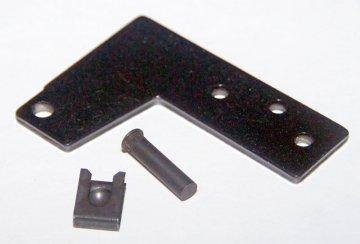 Петля двери холодильника (пласт. профиль двери, верхняя)
