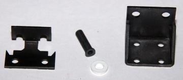 Петля двери холодильника (пласт. профиль двери, нижняя)
