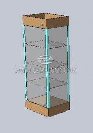 ЗАМОК для одностворчатой витрины