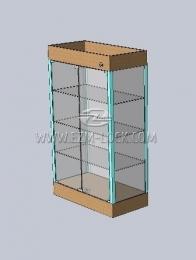 ЗАМОК для двустворчатой витрины