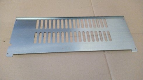 Решетка задняя холодильника S8 (оцинкованная)