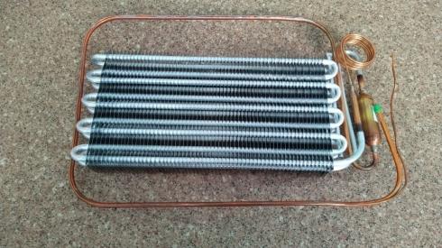 Испаритель холодильника S8 HC, алюминиевый