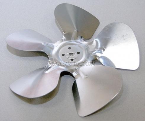 Крыльчатка вентилятора холодильника MEDIUM, 230/28, металлическая