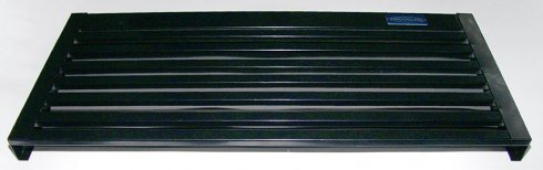 Решетка передняя холодильника FV650 (чёрная)
