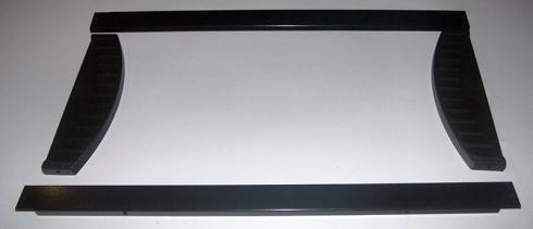 Рамка рекламного блока холодильника COLDWELL 450 (в сборе)